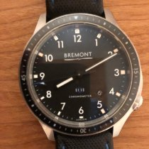 Bremont BB1-SS/BK Steel 2016 Boeing 43mm pre-owned United States of America, Washington, Bellevue