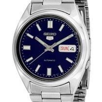 Seiko 5 Steel 37mm Blue