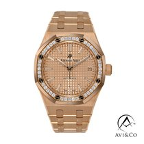 Audemars Piguet Royal Oak Lady Rose gold 37mm Pink No numerals United States of America, New York, New York