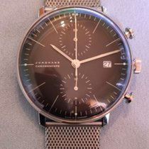 Junghans max bill Chronoscope 027/4601.00 2010 pre-owned