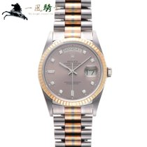 Rolex Day-Date 36 Or blanc 36mm