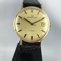 Universal Genève pre-owned Automatic 34mm Gold Plastic