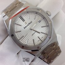 Audemars Piguet Royal Oak Stainless Steel Silver Dial 41mm