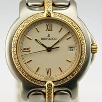Bertolucci LADIES B PULCHRA STAINLESS STEEL - GOLD - DIAMOND