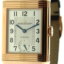 Jaeger-LeCoultre Grande Reverso Night & Day Rose gold 46.8mm Silver United States of America, New Jersey, Cresskill