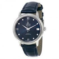 Omega Ladies 42413332053001 De Ville Prestige Co-Axial Watch