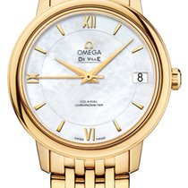 Omega 424.50.33.20.05.001 Yellow gold 2021 De Ville Prestige 32.7mm new United States of America, New York, Airmont