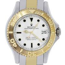 勞力士 (Rolex) 68623 Two Tone Midsize Yacht Master Date Watch