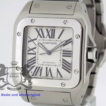 cartier santos 100 w200737g large box u0026amp swiss papers