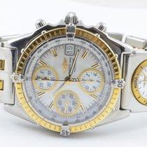 Breitling Chronomat Gt Uhr Automatik B13050 Stahl Gold Mop...