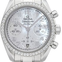 Omega Speedmaster Ladies Chronograph Stahl 38mm Perlmutt