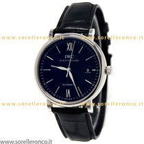 IWC Portofino Automatic IW356502 - IWC Portofino Watch Black DIal Automatic Leather new