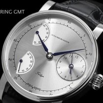 Schaumburg Stahl 42mm Handaufzug Schaumburg Watch Siding Spring GMT neu