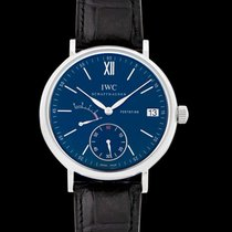 IWC Portofino Hand-Wound Steel 45.00mm Blue United States of America, California, San Mateo