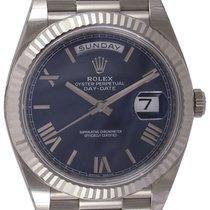 5600d0e2273 Rolex   Day-Date 40 President   228239   18k White Gold  ... por R ...