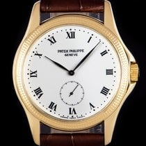 Patek Philippe Calatrava pre-owned 35mm Yellow gold