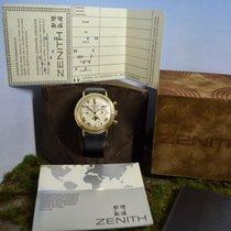 Zenith Movado Vintage Espada 14kt. Gold Chronograph, UNGETRAGE...