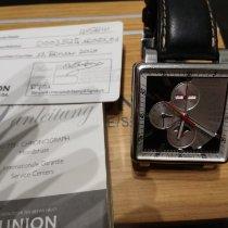 Union Glashütte Averin Otel 42.5mm Negru Fara cifre