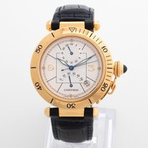 Cartier Pasha (Submodel) pre-owned 38mm Yellow gold