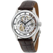 Oris Artelier Translucent Skeleton Steel 41mm United States of America, New York, Brooklyn