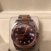 Rolex Rose gold Automatic 41mm pre-owned Datejust II
