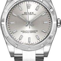 Rolex Oyster Perpetual 26 neu Automatik Uhr mit Original-Box 176210-SLVRO
