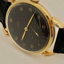 Omega Omega oversize 40 mm Very good Yellow gold 40mm Manual winding