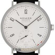 NOMOS Tangente Neomatik Steel 40.5mm White