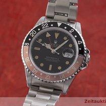 Rolex GMT-Master II Ατσάλι 40mm Μαύρο