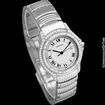 Cartier Cougar Steel 34mm Silver Roman numerals United States of America, Georgia, Suwanee