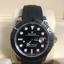 Rolex Yacht-Master 42 White gold 42mm Black No numerals Singapore, Singapore