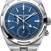 Vacheron Constantin Overseas Dual Time Steel 41mm Blue No numerals United States of America, Florida, Sunny Isles Beach