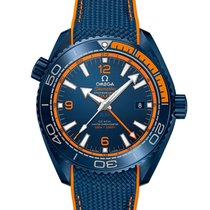 Omega Seamaster Planet Ocean Ceramic 45.5mm Blue Arabic numerals United Kingdom, Peebles