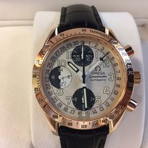 Omega Speedmaster Day Date Rose gold 39mm Silver