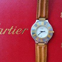 Cartier 21 Must de Cartier Stahl 35mm Silber Römisch Deutschland, Bad Endorf