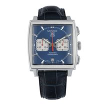 TAG Heuer Monaco CW2113 2002 pre-owned