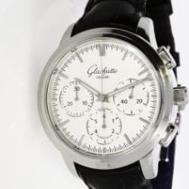 Glashütte Original Senator Chronograph pre-owned Crocodile skin
