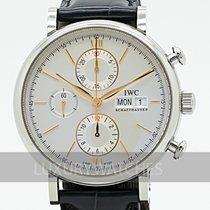 IWC Portofino Chronograph Otel 42mm Argint