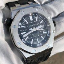 Audemars Piguet Royal Oak Offshore Diver Acier 42mm Noir Sans chiffres