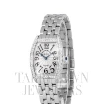 Franck Muller Women's watch Cintrée Curvex 25mm Quartz pre-owned Watch with original box and original papers 2007