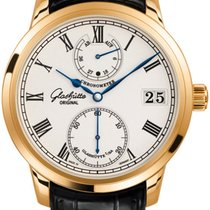 Glashütte Original Senator Chronometer Rose gold 42mm Silver United States of America, New York, Airmont