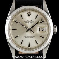 Rolex Stainless Steel O/P Silver Dial Datejust Vintage Gents 1603