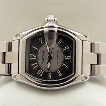 Cartier Roadster  Steel Grey Black Arabic Dial (37 x 44 mm)