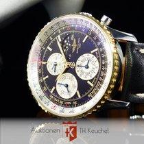 Breitling Navitimer 1461 Jahreskalender Gold Stahl Ref. D19022...