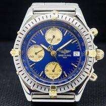 Breitling B13048 Chronomat Blue Dial SS / 18K (27240)