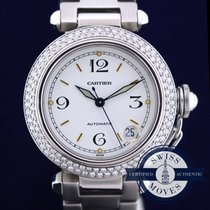 Cartier PASHA  DOUBLE ROW DIAMOND BEZEL 2.00 CARATS