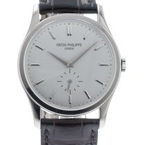 Patek Philippe Calatrava 5196G-001 Watch with Leather Bracelet...