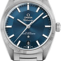 Omega Globemaster Steel 39mm Blue No numerals United States of America, New York, New York