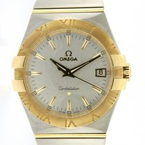 Omega | Constellation, stainless steel and yellow gold, full...