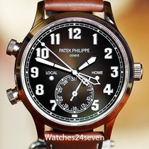 Patek Philippe Travel Time Rose gold 42mm Arabic numerals United States of America, Missouri, Chesterfield
